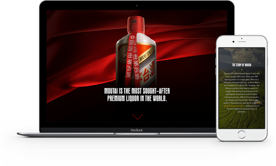 Moutai on the web